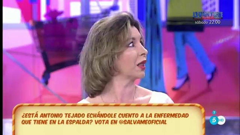 """La madre de Antonio Tejado: """"Tiene una lesión pero es muy quejica y miedoso"""""""