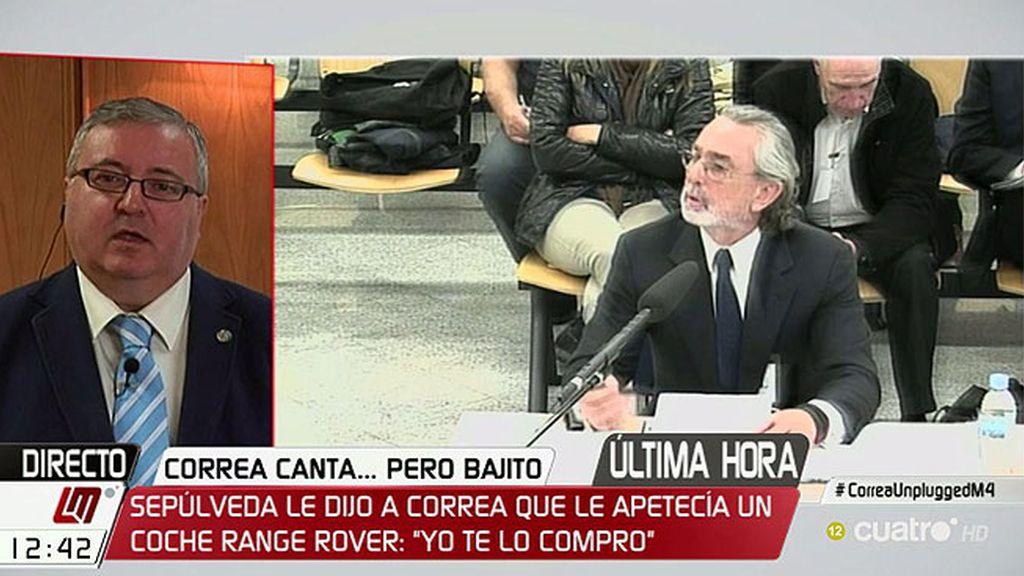 """Marcelino Sexmero: """"Francisco Correa no habla de regalos, habla de sobornos"""""""