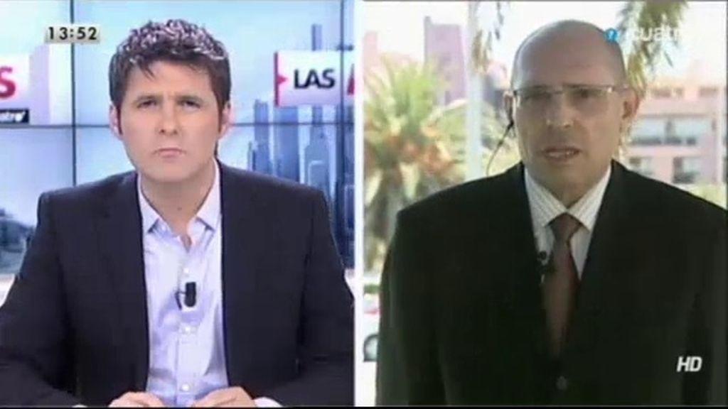 """Elpidio explica el plagio: """"Estamos sufriendo una monitorización del sistema informático"""""""