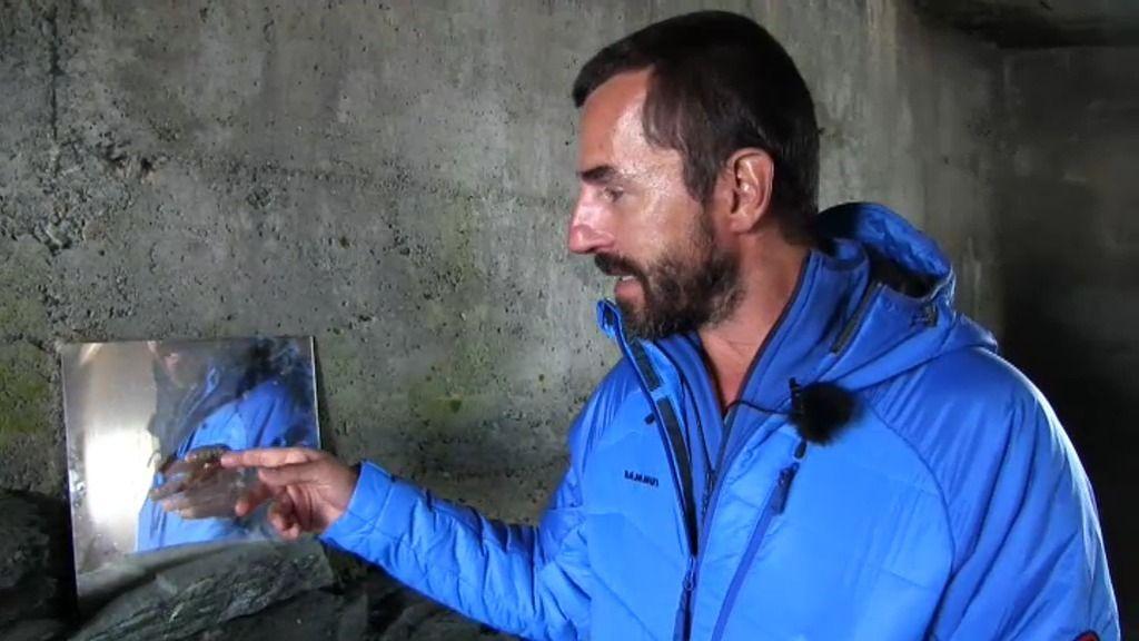 """Santi Millán: """"A tenor del espejo del refugio, el montañero no es muy presumido"""""""