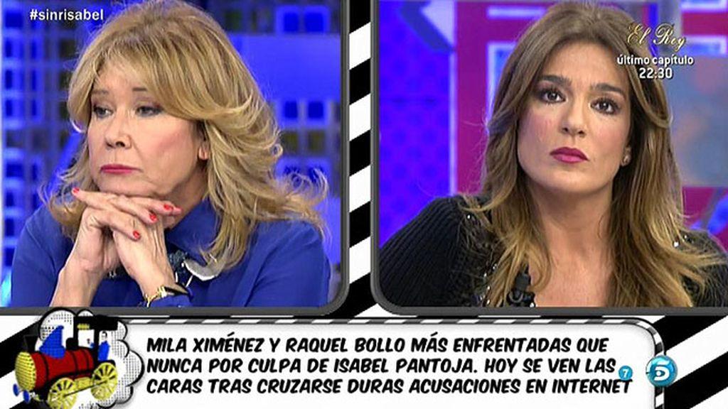 """Mila, sobre Raquel: """"Cuando se habla de Pantoja se crea una fisura insoldable"""""""