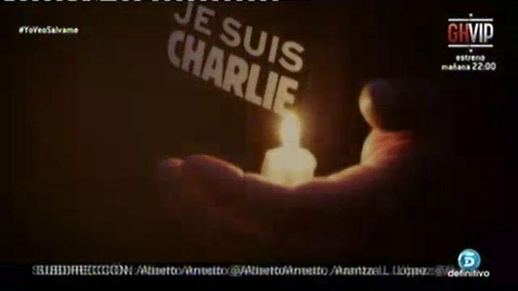 'Un tiempo nuevo' se solidariza y manda su apoyo a Charlie Hebdo