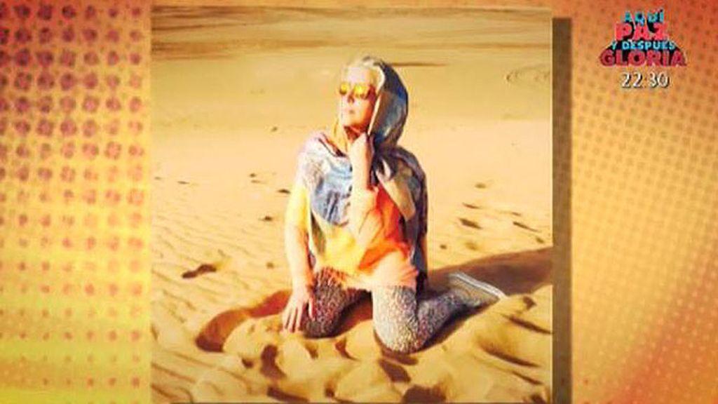 El viaje de Lydia Lozano a Dubai