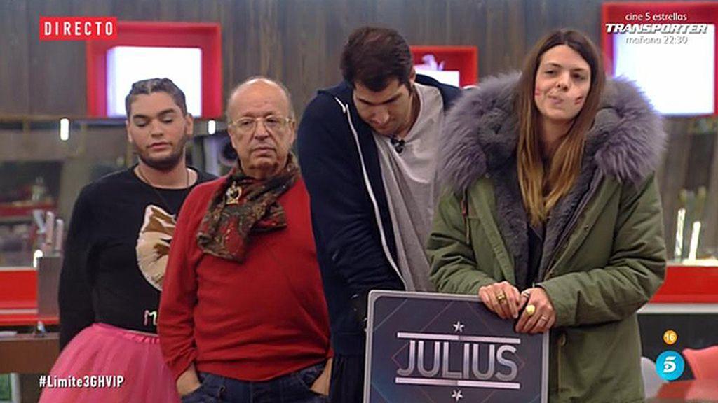 """Laura: """"Julius es como mi hermano mayor"""""""