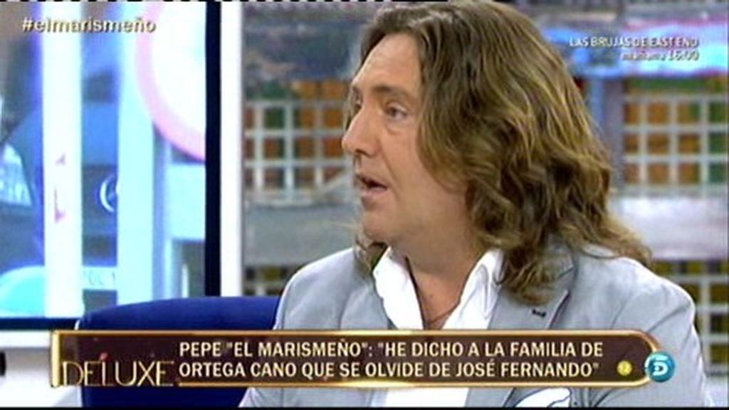 """Pepe 'El Marismeño': """"A Josefer la cárcel no le ha asustado"""""""
