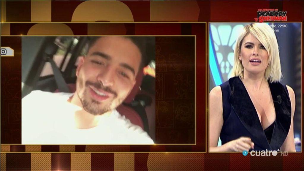 Adriana Abenia contesta a Maluma
