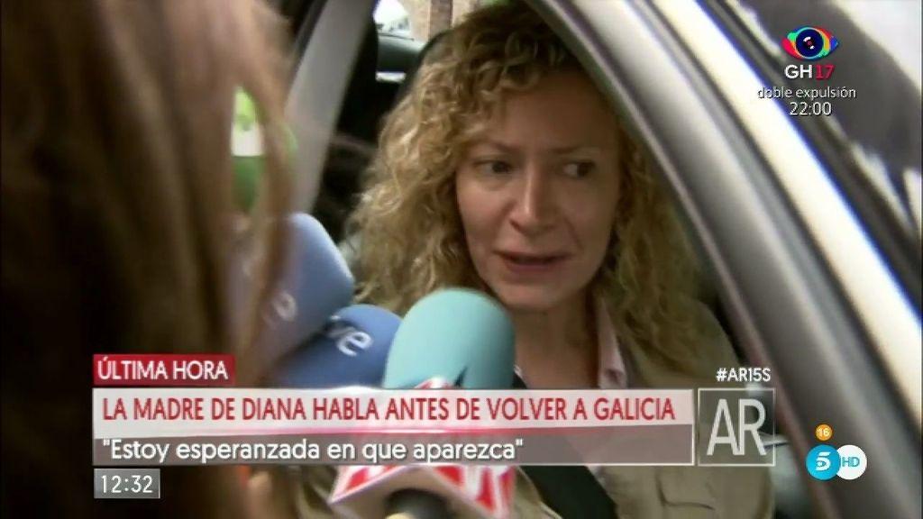 """La madre de Diana Quer: """"Sé que mi hija va a aparecer y siento que está viva"""""""