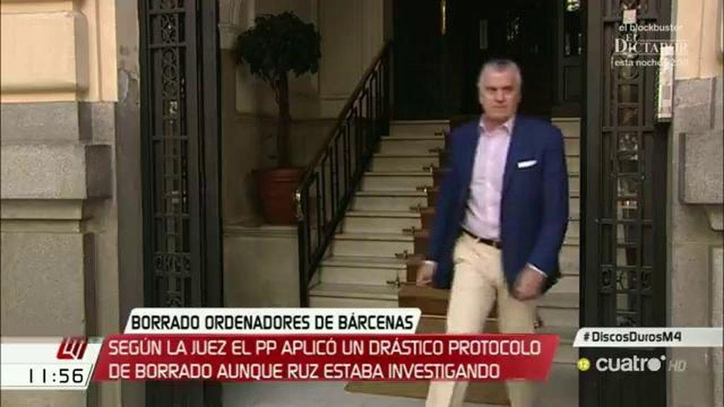 """Luis Bárcenas guarda silencio: """"No tengo nada que declarar"""""""