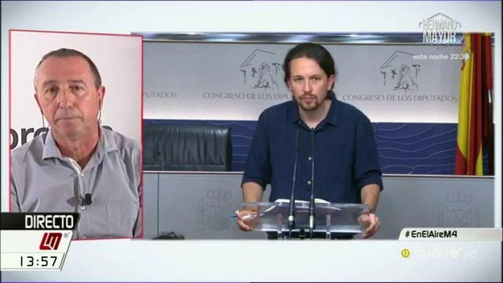 """Baldoví: """"La alternativa sería un gobierno de Podemos, PSOE y la abstención de Ciudadanos"""""""
