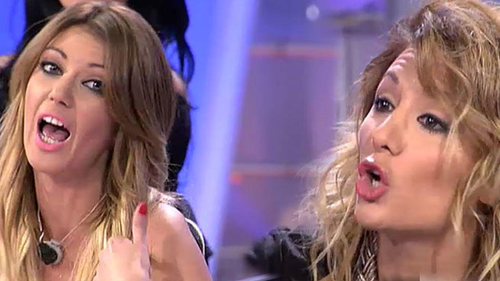 "Shaila, a Nagore: ""Tienes la lengua sucia"""