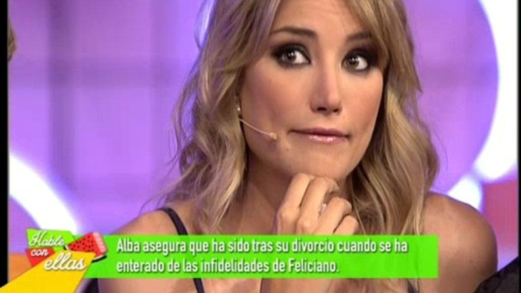 """Alba Carrillo: """"La familia de Feliciano era intrusiva, abrían hasta los armarios"""""""
