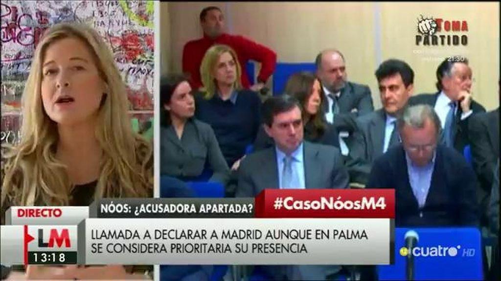 """Virginia López, abogada de la acusación en el caso Nòos: """"Me siento coaccionada"""""""