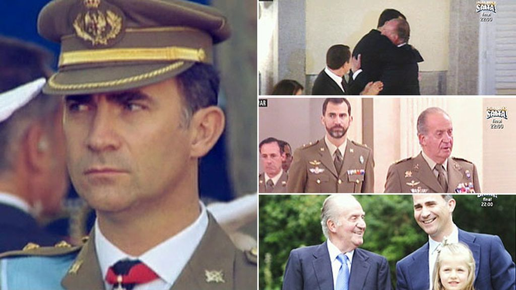 Don Felipe, un futuro Rey que siempre contará con su 'querido patrón'