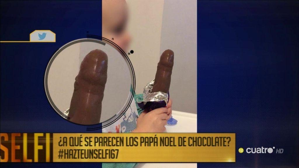 Un padre escribe a una empresa por… ¡la forma de los Papá Noel de chocolate!