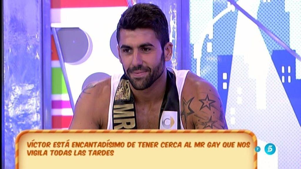"""Víctor Sandoval, de Mr. Gay: """"Si hay que pedirle la mano, le pido la mano"""""""
