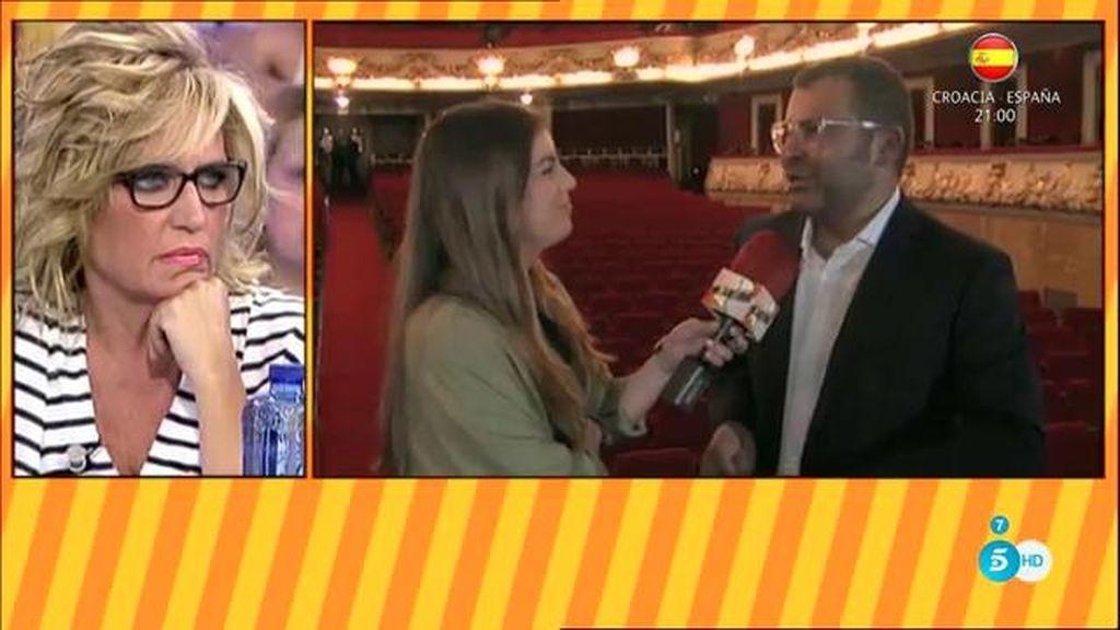 """J.J. en el estreno de su obra en Barcelona: """"Lydia es fundamental para 'Sálvame"""""""