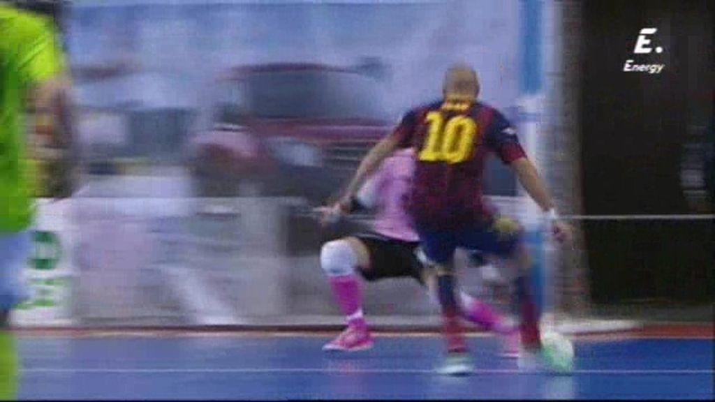 Gol de Igor (Barça 2-2 Inter Movistar)