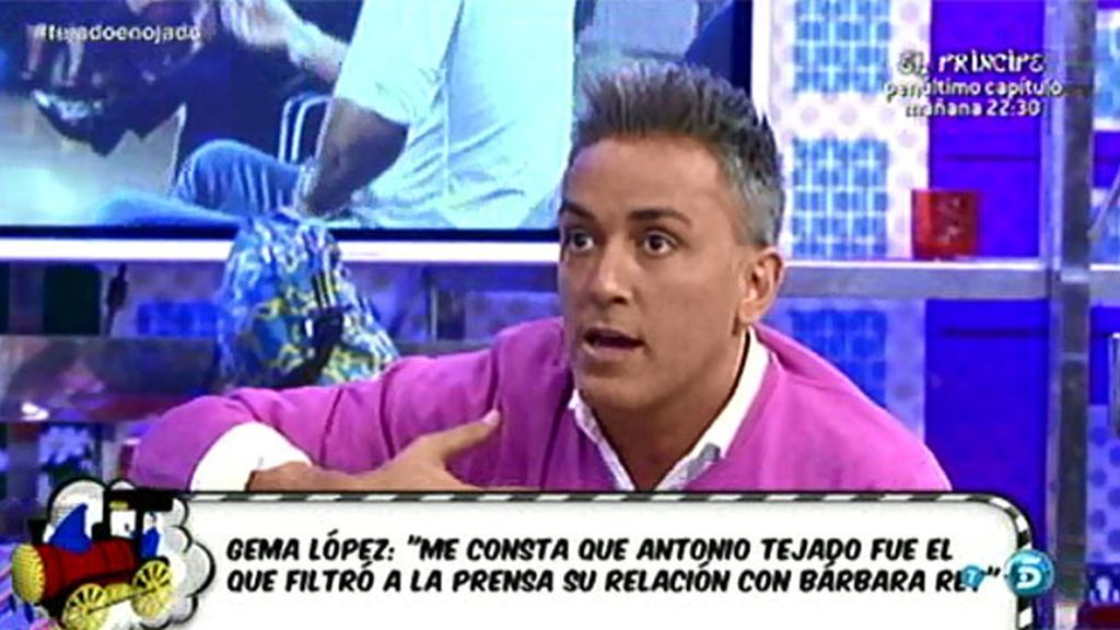 "Kiko H. no se fiaba de Alba, la mujer de Antonio Tejado: ""Yo la puse a parir"""