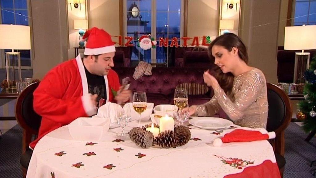 Laura y Daniel viven la cita más navideña e incómoda de la princesa