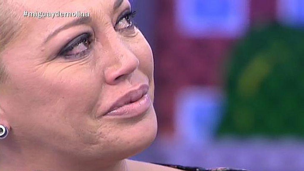 """Jorge Javier emociona a Belén Esteban: """"Me encantó verte acompañada por Miguel"""""""