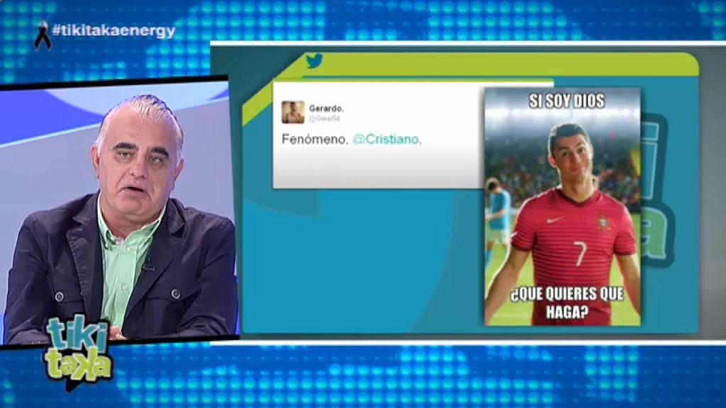 """Pedro Pablo tras la ovación del Bernabéu a CR7: """"Dejará una huella como Di Stéfano"""""""