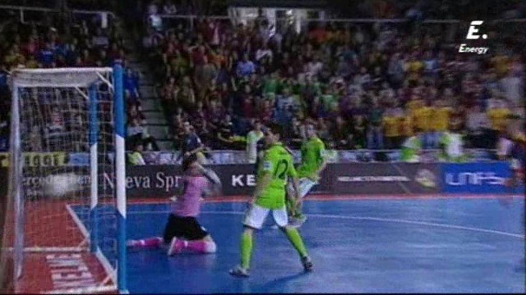 Gol de Wilde (Barça 5-3 Inter Movistar)
