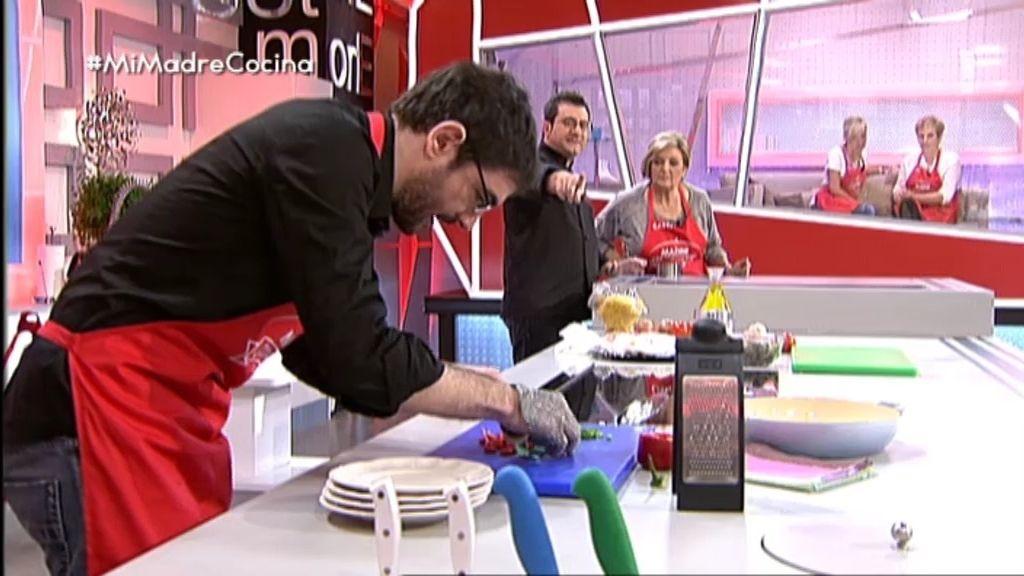 El show culinario de Juanra y Casti
