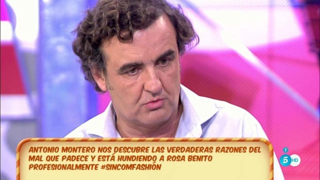 """Antonio Montero, de Rosa Benito: """"Se echa de menos a sí misma"""""""