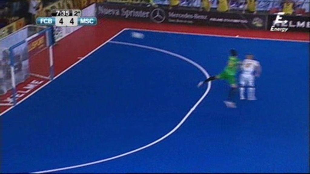 Gol de Dani Salgado (Barça 4-4 Marfil)