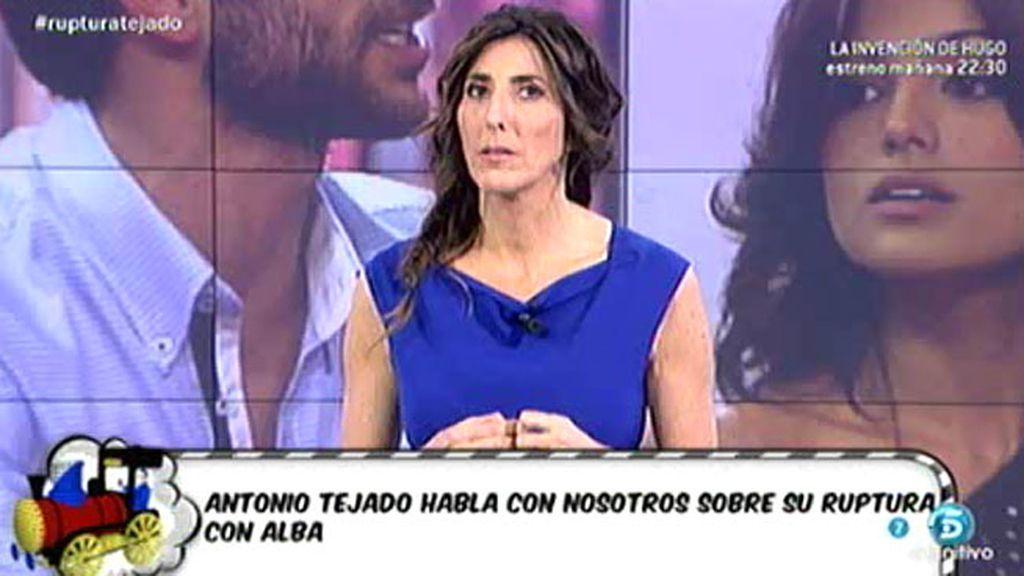 """Antonio Tejado: """"A mí me han dolido los huesos de querer a mi mujer"""""""