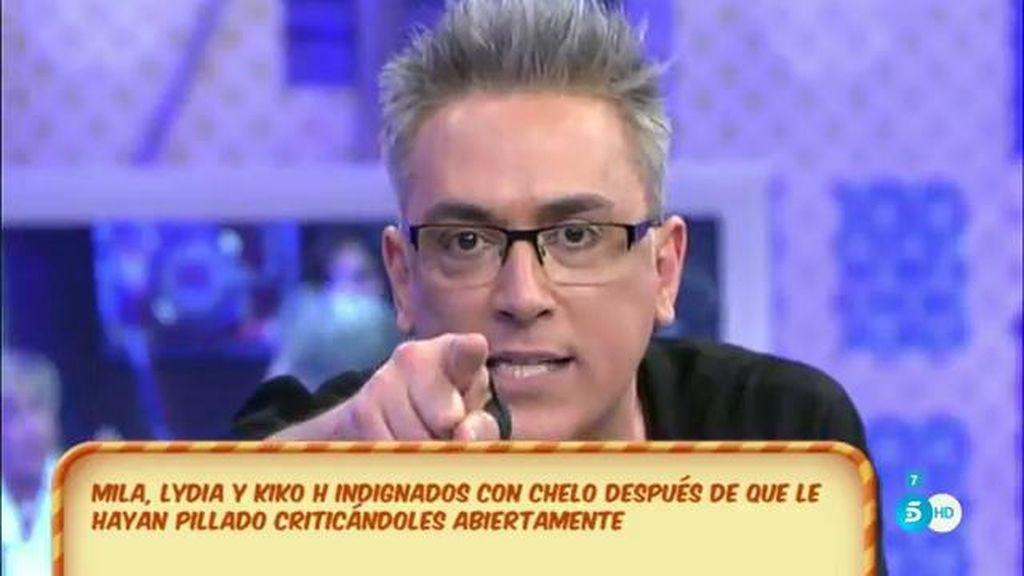 "Kiko Hernández, a Chelo García-Cortés: ""Yo no te perdono, con mi pan tú no juegas"""