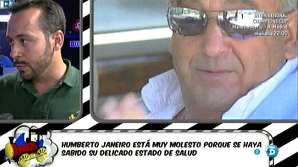 Humberto Janeiro ha sido intervenido para cambiarle el marcapasos