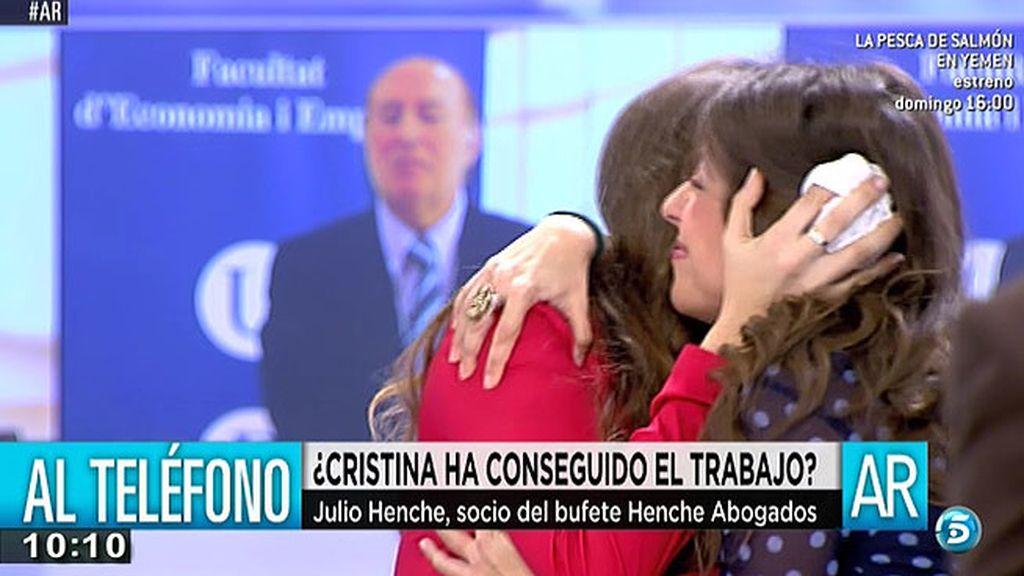 María y Cristina consiguen trabajo tras aprender a enfrentarse a las entrevistas
