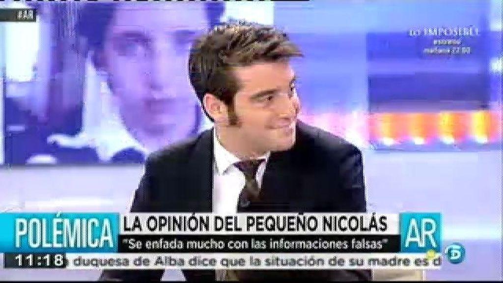 """J. Negre, al 'Pequeño Nicolás': """"A 'El Mundo' no se le va a amordazar por mucha demanda que ponga"""""""