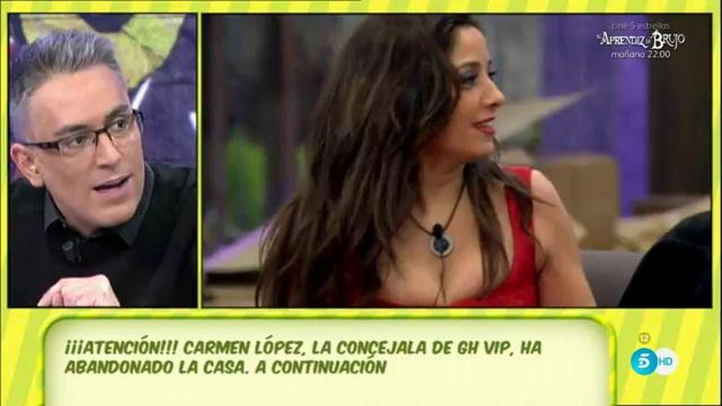 "Kiko Hernández, de Carmen López: ""Sale de 'GH VIP' para poner demandas a todos"""