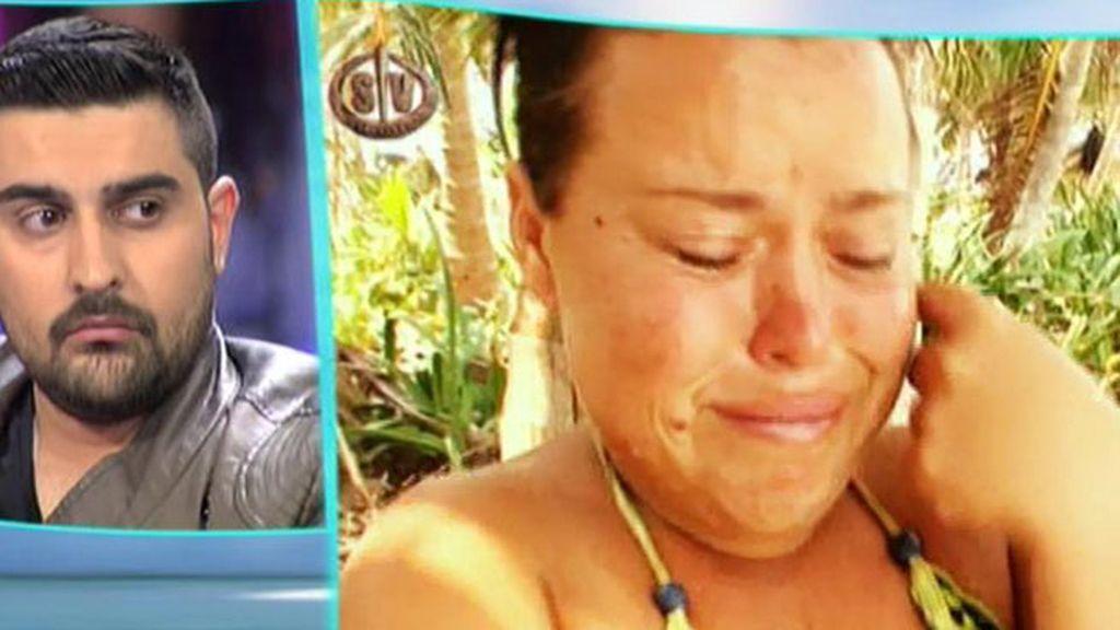 """Chiqui: """"Borja me dijo que al salir de la isla me iba a preñar"""""""