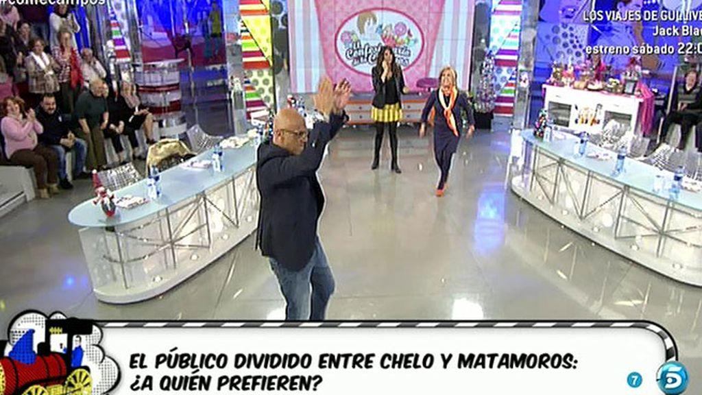 El público, dividido entre Chelo y Matamoros