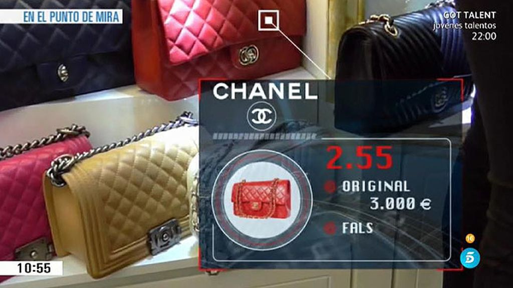 'En el punto de mira' entra en una fábrica de falsificaciones en China