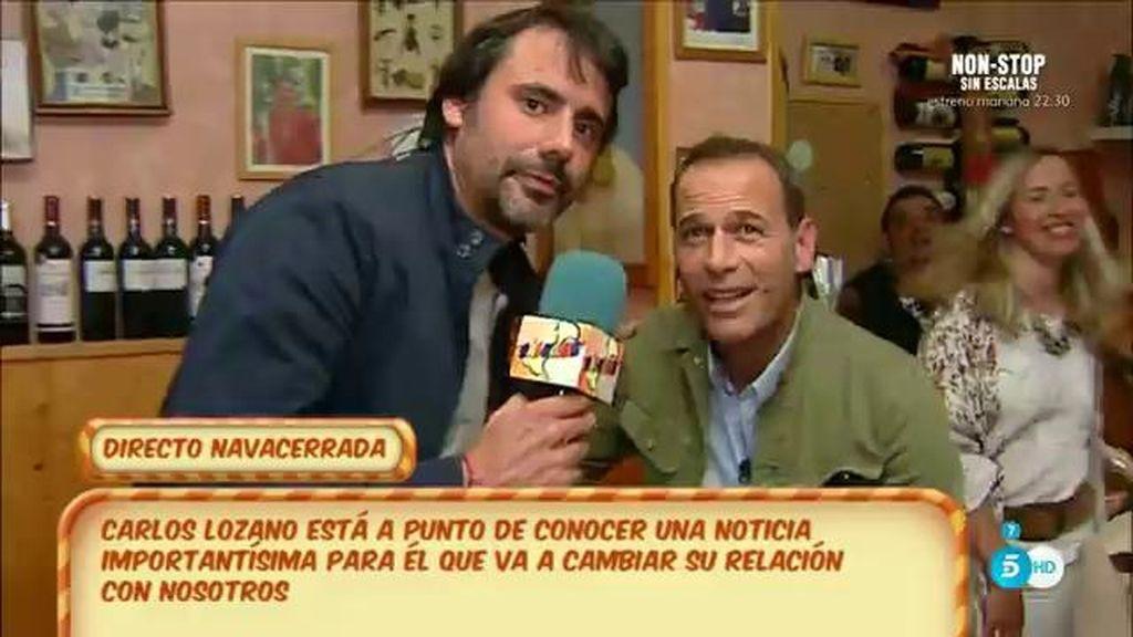 """Carlos Lozano, de su nuevo programa : """"Lo importante es hacerlo bien y darlo todo"""""""