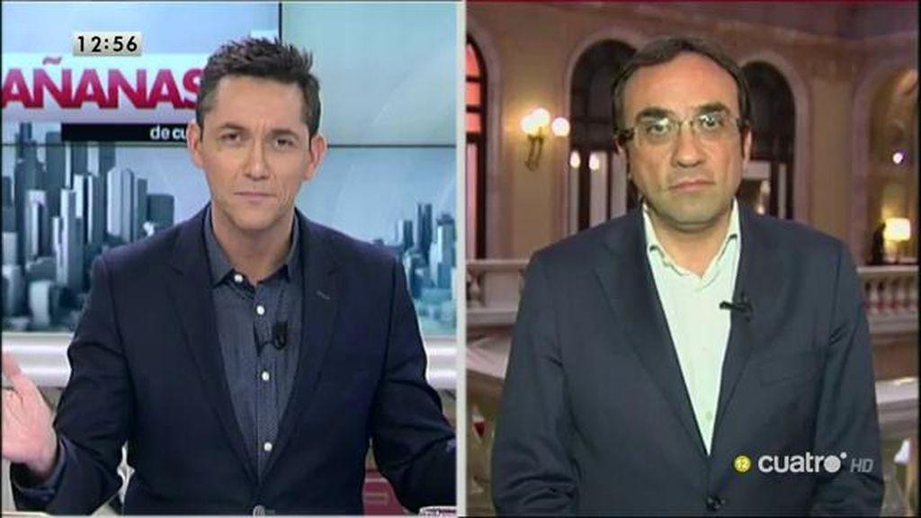 """Rull: """"Esta situación de vacío en el Estado español puede ser una oportunidad para plantear lo que estamos planteando"""""""