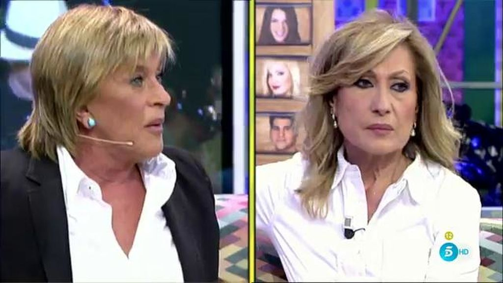 """Rosa Benito responde irónica a Chelo: """"¿Tú a mí me vas a hablar de ridículo?"""""""