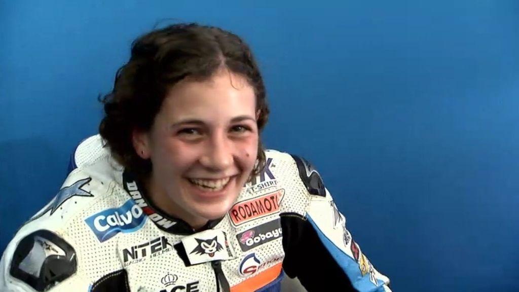Ana Carrasco, primera mujer española en puntuar en un Mundial