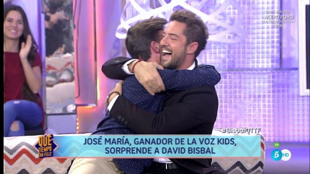 """Bisbal y José María, de 'La Voz Kids', vuelven a cantar a dúo """"Dígale"""""""
