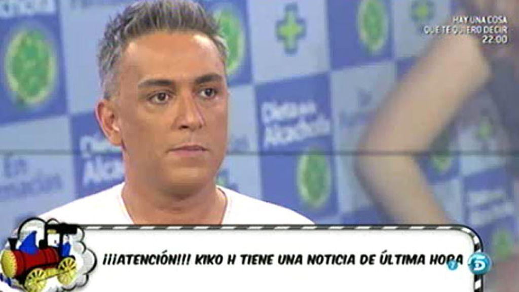 """Kiko H.: """"Chabelita y Alejandro han roto"""""""
