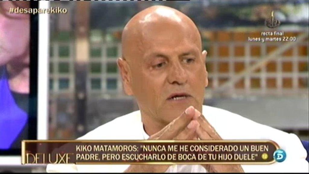 """Kiko: """"Me molesta la concepción infantiloide que Diego tiene de mi ruptura con su madre"""""""