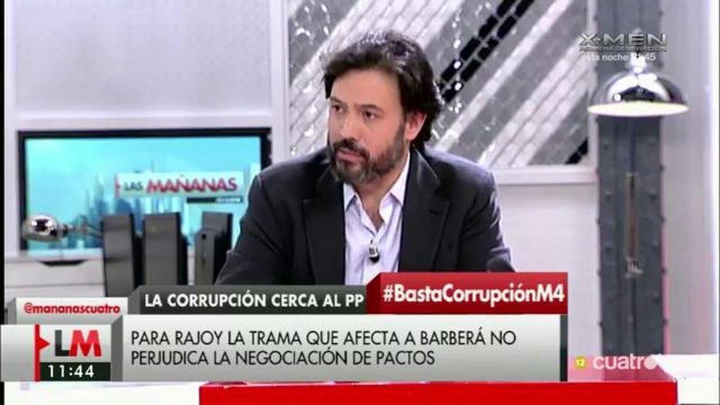 """G. Mariscal (PP): """"Estáis trasladando la imagen de que aforamiento es impunidad y es absolutamente incorrecto"""""""