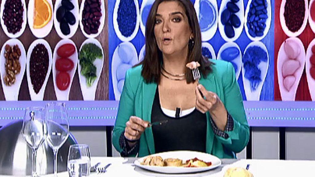 """María Jiménez Latorre, sobre el solomillo relleno: """"Ni chicha ni limoná"""""""