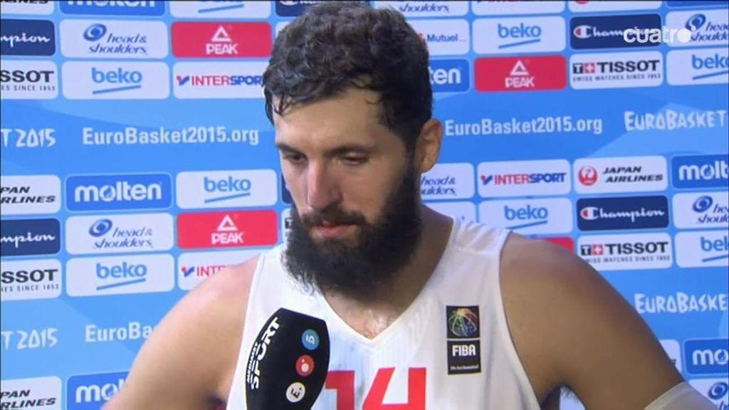 """Nikola Mirotic: """"Sabemos disfrutar ganando de poco, con los últimos tiros"""""""