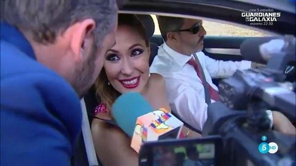 Chayo acude a la boda de Rocío Carrasco y esquiva las preguntas sobre su madre