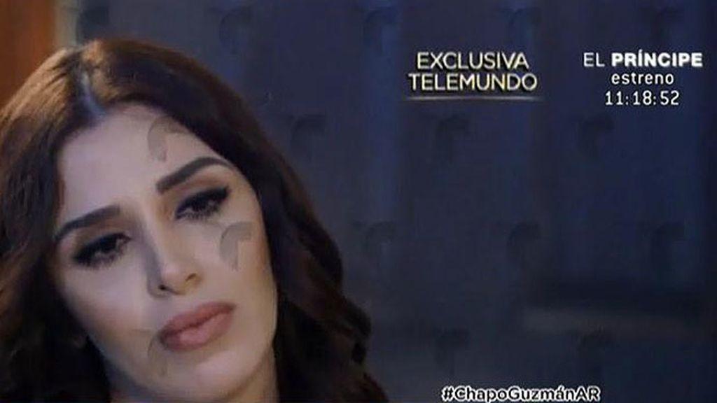 """La mujer del Chapo: """"No ha sido juzgado, no se han comprobado los delitos"""""""